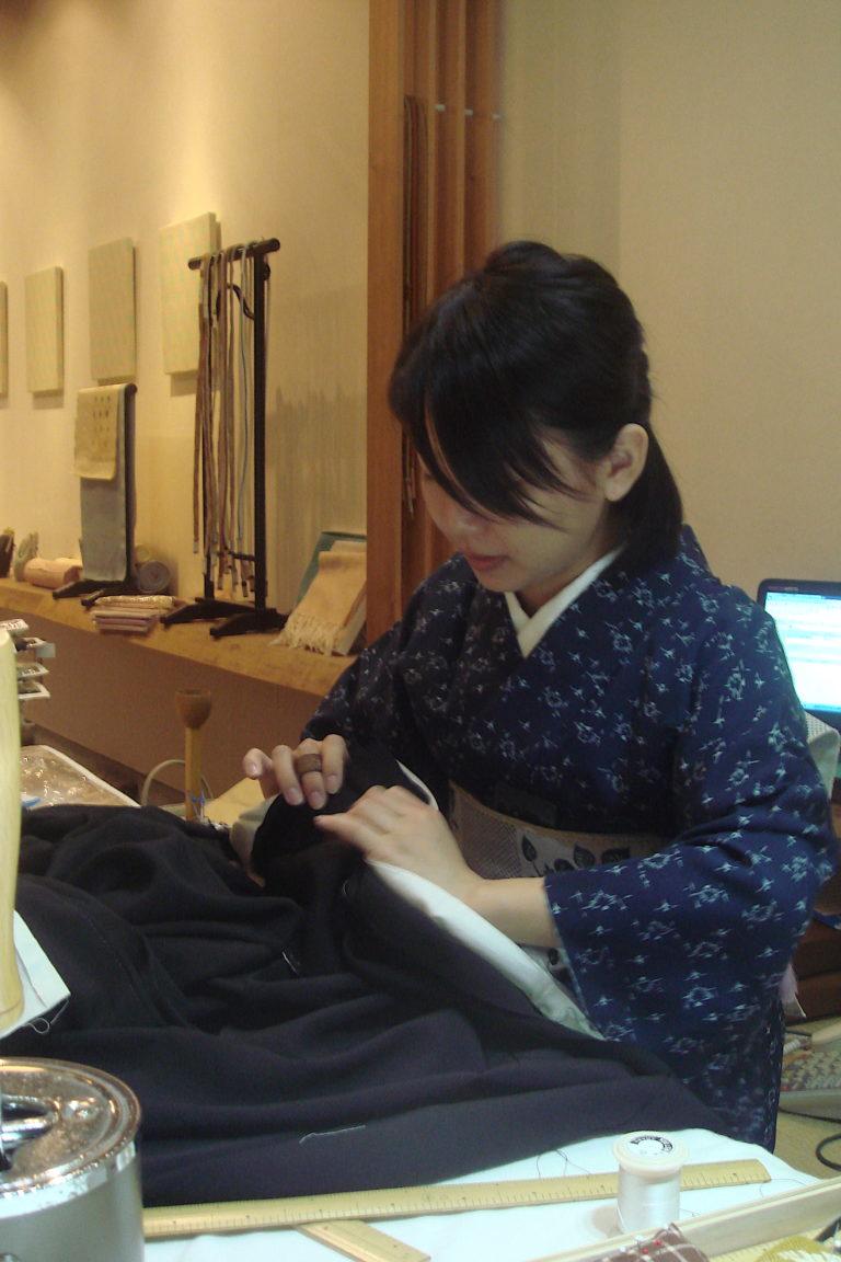 kimono Sewing class