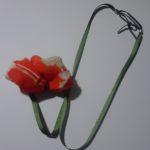 Collier perle soie