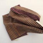 Dos écharpe crêpe dessole de kimono