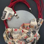 Soie de kimono Collier